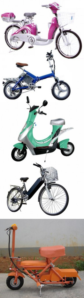 Electric bikes from China