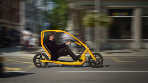 "Torkel Dohmers ""ThisWay"" enclosed recumbent design"
