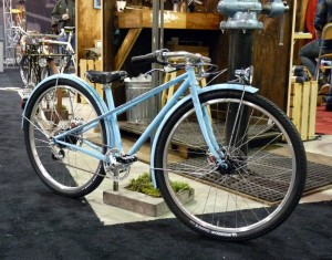 Vanilla girl's cruiser bike