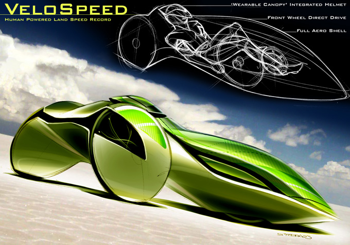 Velomobile concept from SpeedStudioDesign.com