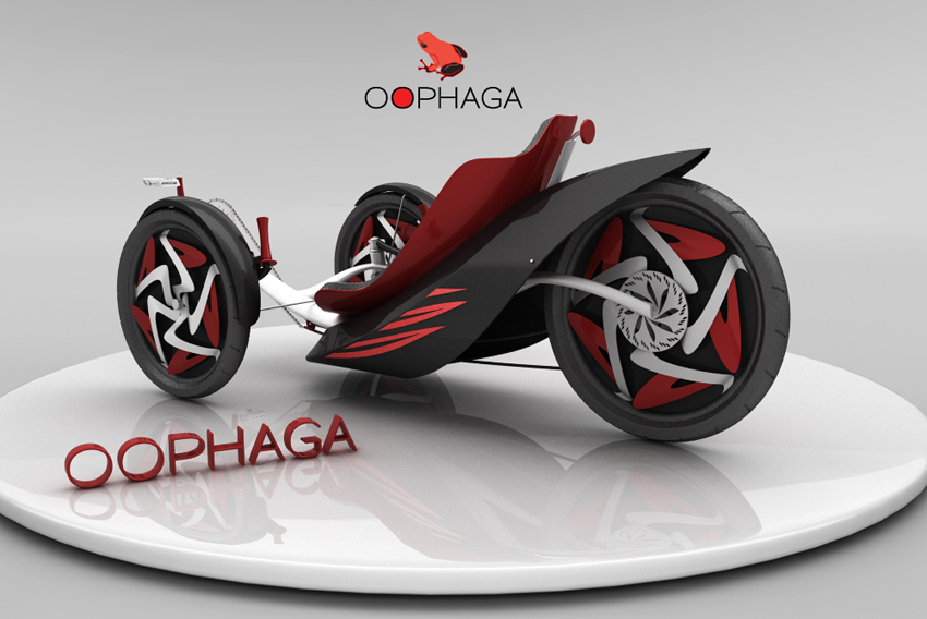 oophaga trike design