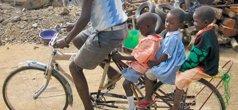 Bikes For Africa Enter the African Bicycle