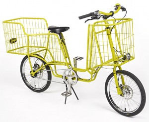 Camioncyclette cargo bike design by Christophe Machet