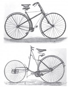 "From the 1896 book ""Bicycles and Tricycles' by Archibald Sharp"