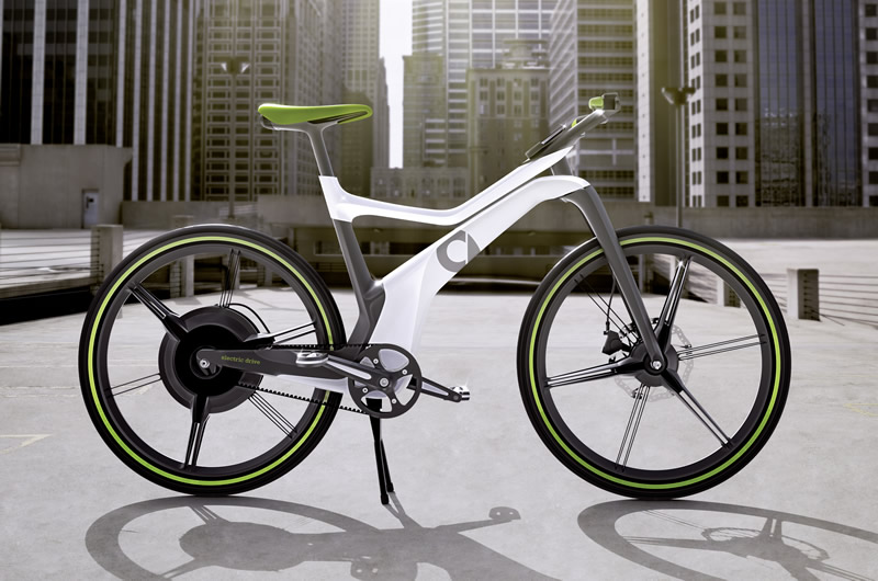 The Smart ebike by Hussein Al-Attar – Bicycle Design