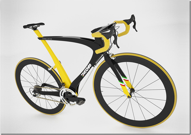 Picchio carbon bicycle design by Nicola Guida