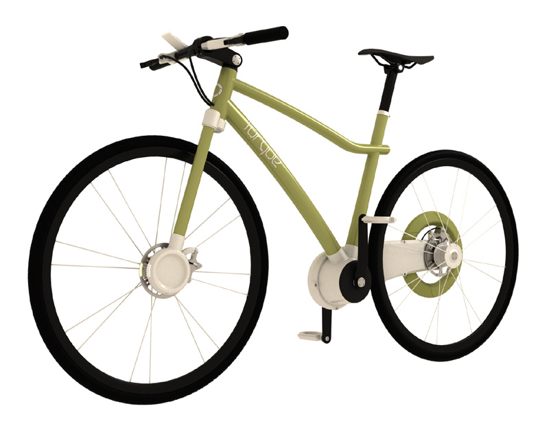 Torque-bicycle-green