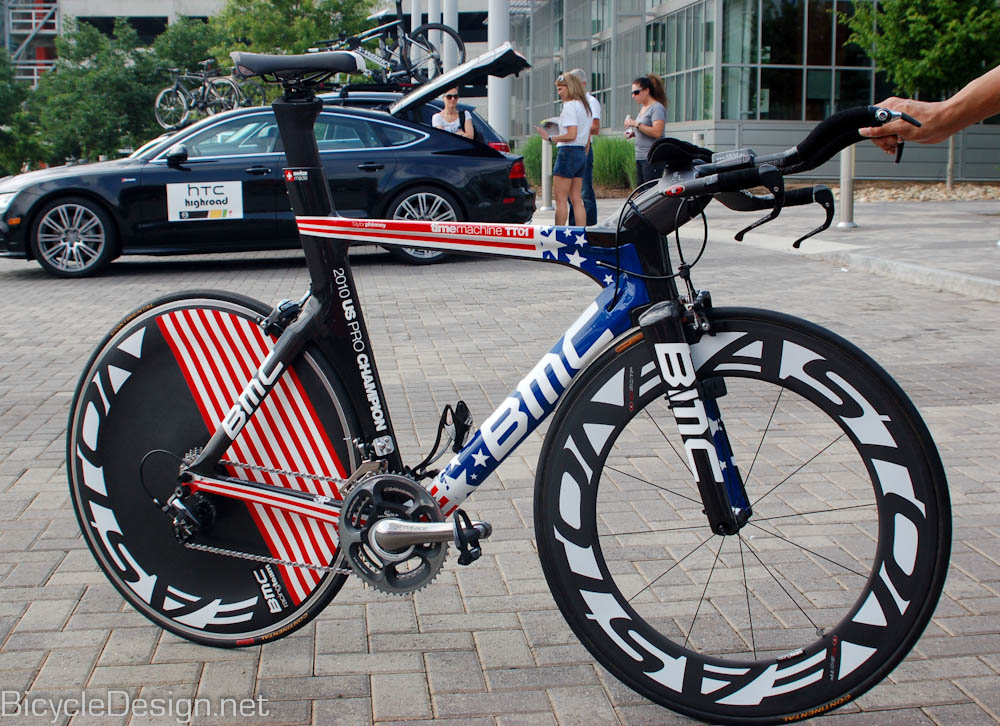 Taylor Phinney's Stars and Stripes BMC