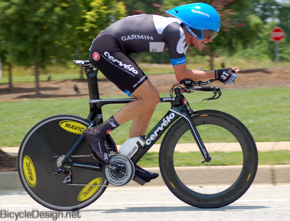 Dave Zabriskie in the 2011 US Pro time trial