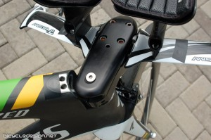 Specialized Shiv stem and headtube detail