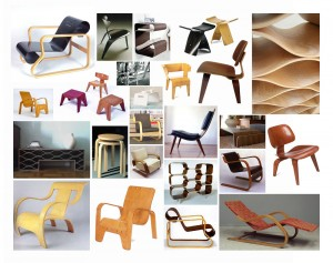 classic bent plywood chairs