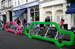Cyclehoop car shaped bike rack