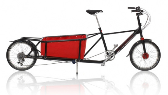 8 Freight cargo bicycle designed by Mike Burrows