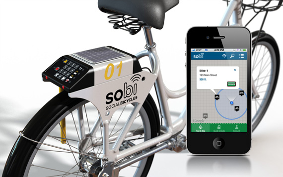 Soicial Bicycle (SoBi) bike share