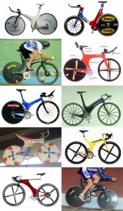 Pre Lugano Charter bicycle designs