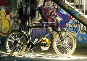 Motorized bicycle by Wiley Davis