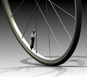 PumpTire self-inflating bicycle tire