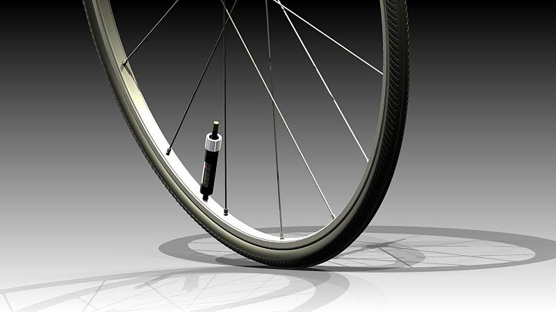 PumpTire self inflating bicycle tire