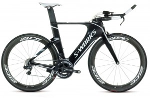 Specialized Shiv S-Works aero triathlon bike