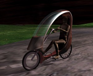 Ecomobile concept bike by David Jushpe