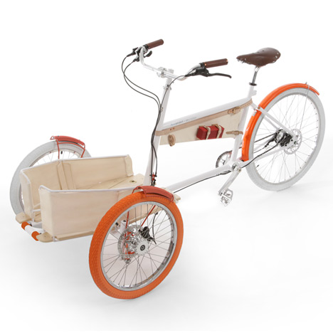 Local tricycle by Yves Behar and fuseproject