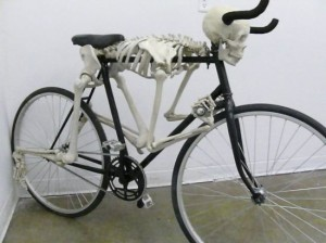 Eric Tryon's skeleton bike