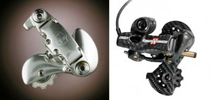 Campy derailleurs- then and now