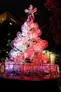 bicycle Christmas tree