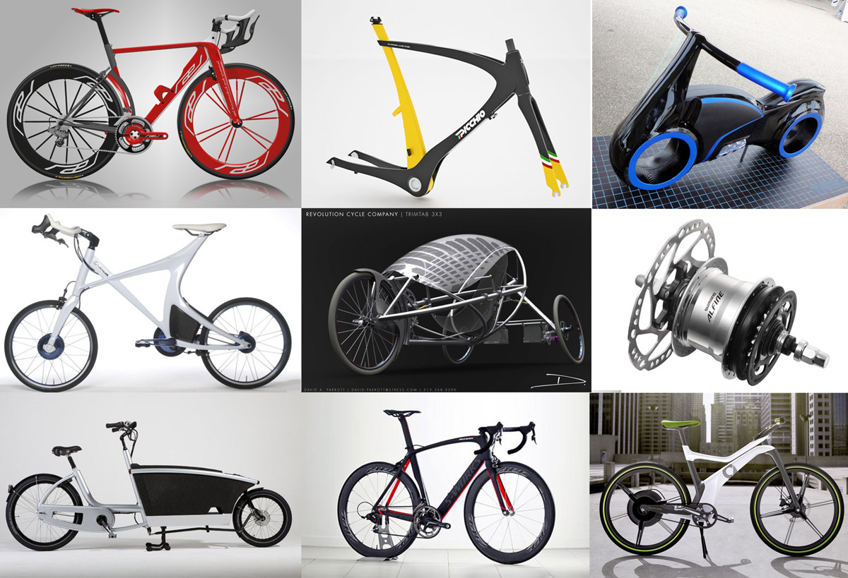 Images from popular posts at BicycleDesign.net in 2011