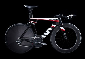 Cervelo P5 time trial and triathlon bike