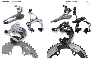 SRAM Red old and new comparision