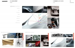 SRAM Red Skinteque inspiration board