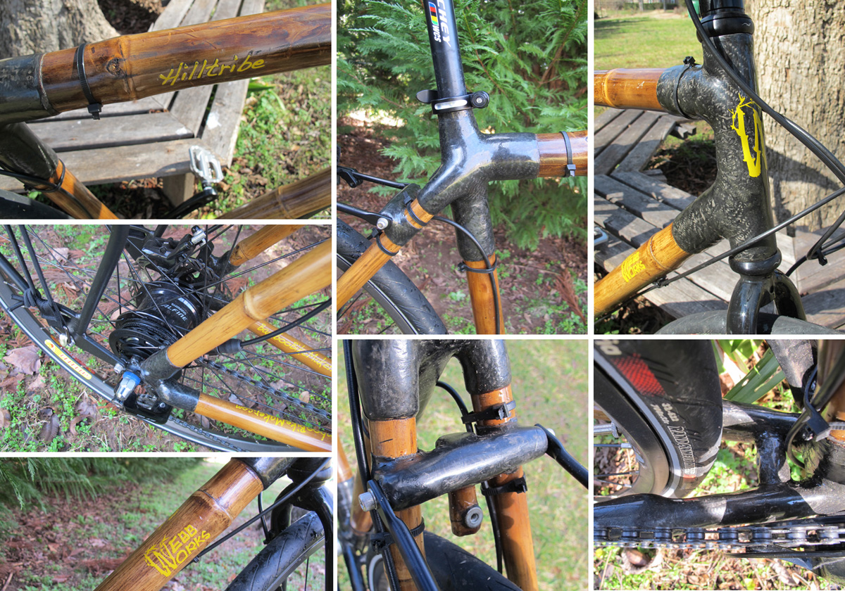 A couple of weeks with a bamboo WebbWorks Hilltribe   Bicycle Design