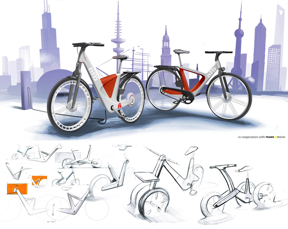 Starck s town bike and teams design s ntb bicycle design for Good industrial design