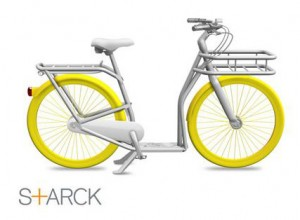 PIBAL town bike design by Philippe Starck