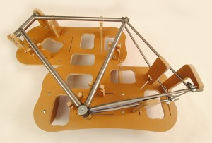 Jiggernaut bicycle framebuilding  jig