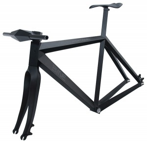 Nighthawk carbon bike frame by Brano Meres