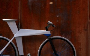 Rollin origami bicycle concept by designer Moritz Menacher