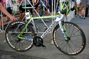 Timmy Duggan's US Pro winning Cannondal Supersix EVO