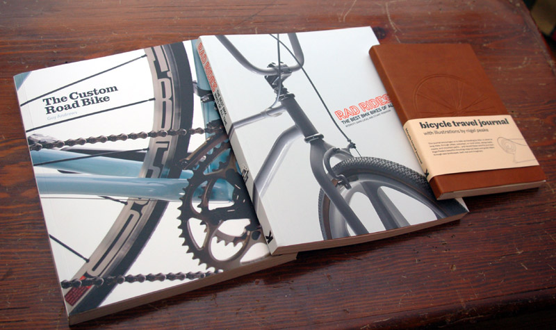 The Custom Road Bike, Rad Rides, and The Bicycle Travel Journal