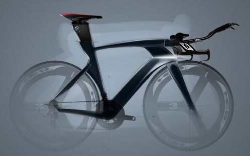 BMW time trial bike concept  by Ilya Vostrikov