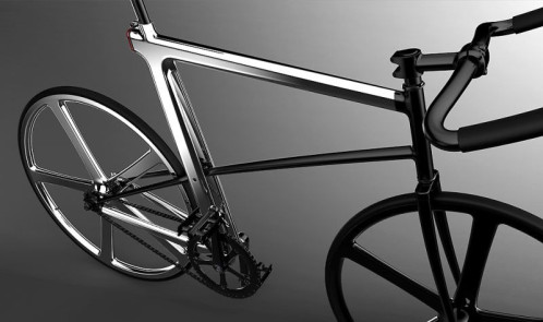 Z-Fixie concept bike by  designer Jeonghe Yoon