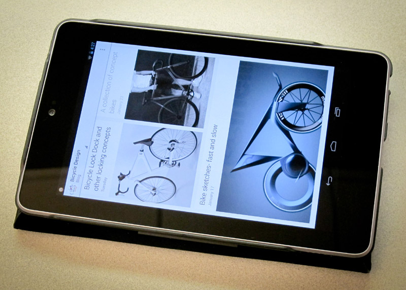 Bicycle Design on Google Currents