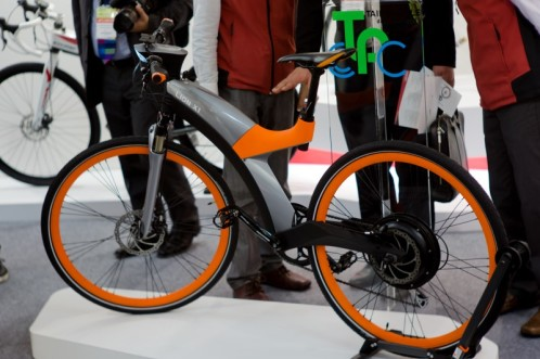 X1 e-bike at TCS2013