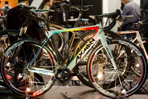 Axman road bike at TCS2013