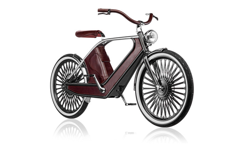Cykno electric bicycle at Milan Design Week 2013