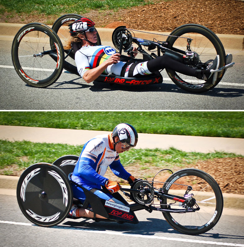 Handcycles of the 2013 Para-cycling Open | Bicycle Design Race Bike Photos 2013