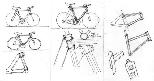 Semester-bicycle-sketches