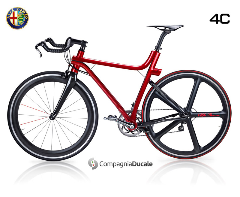 Alfa Romeo 4C IFD bicycle design