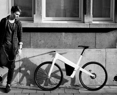Wooden e-bike by Kasper De Backer